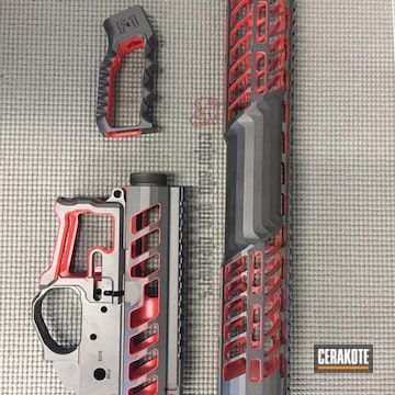 Cerakoted Cerakoted Skeletonized Upper / Lower / Handguard