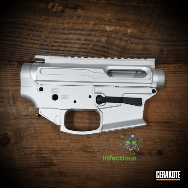 "Thumbnail image for project ""Upper / Lower Receiver with Cerakote H-151 Satin Aluminum"""