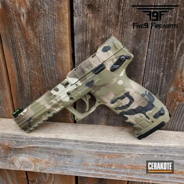 Cerakoted Kel-tec Pmr30 Handgun And Cerakote Multicam