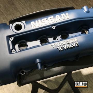 Cerakoted H-127 Kel-tec Navy Blue Nissan Valve Cover