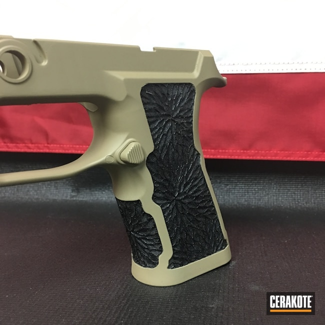 Sig Frame in H-235 Coyote Tan