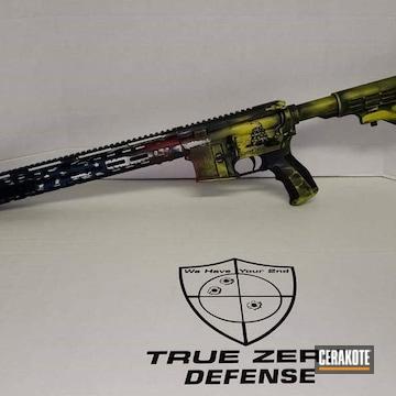 Cerakoted Custom Cerakote Ar-15 Tactical Rifle
