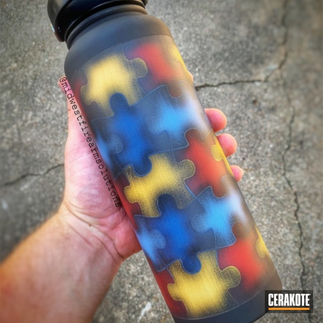 Hydroflask with a Custom Cerakote Finish
