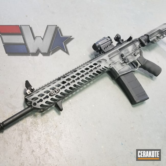 Distressed Sig MCX Rifle