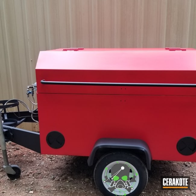 Custom Finished Smoker Grill