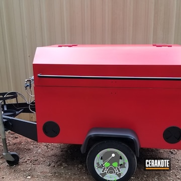 Cerakoted Custom Finished Smoker Grill