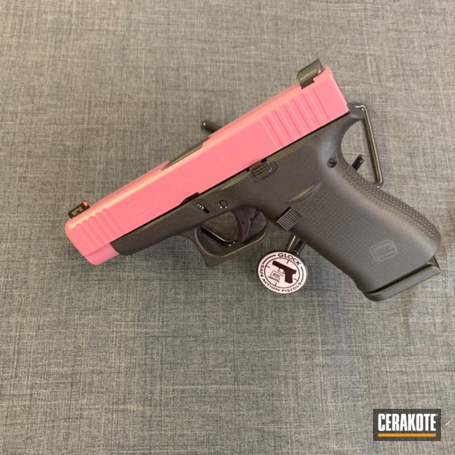 "Thumbnail image for project ""Custom Mixed Pink Cerakote Finish"""
