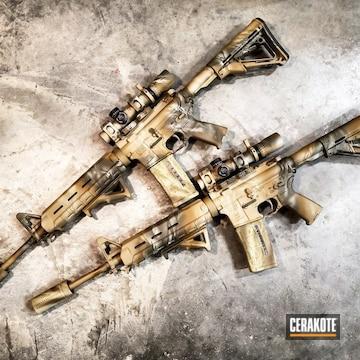 Cerakoted Custom Cerakoted Lwrc Ar-15 Rifles