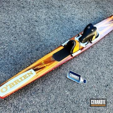 Cerakoted Cerakote Water Ski Restoration
