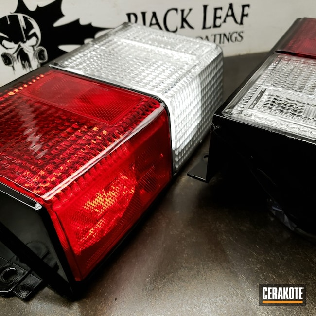 UV Protection for a Set of Tail Lights