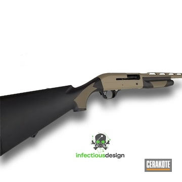Cerakoted H-146 Graphite Black And H-305 Springfield Fde