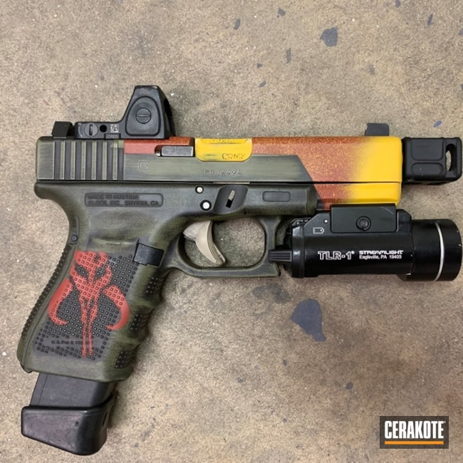 Star Wars Mandalorian Themed Cerakote Finish