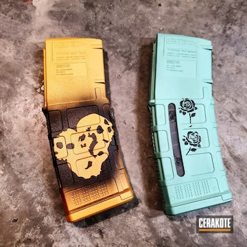 Cerakoted Custom Pmag Magazines
