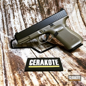 Cerakoted Glock 19 In Cerakote Elite Fde