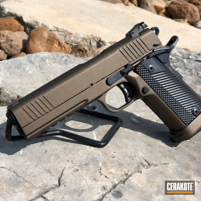 "Thumbnail image for project ""1911 Handgun in H-294 Midnight Bronze"""