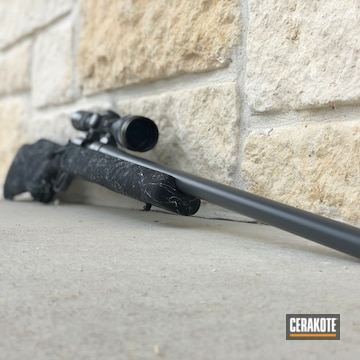 Cerakoted Bolt Action Rifle Remington 700 And Cerakote Elite Concrete