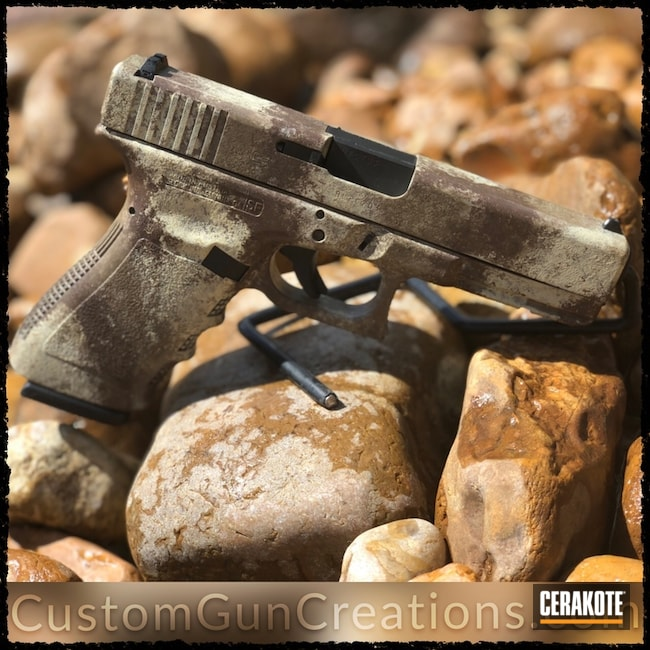 "Thumbnail image for project ""Cerakote ATACS Camo on this 10mm Glock Handgun"""