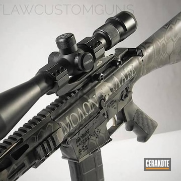 Cerakoted Dpms Panther Arms In A Custom Cerakote Finish