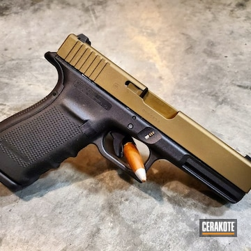 Cerakoted Glock 20 In Cerakote H-148 And H-30118