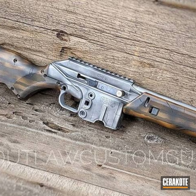 Distressed Kel-Tec SU-16 Rifle
