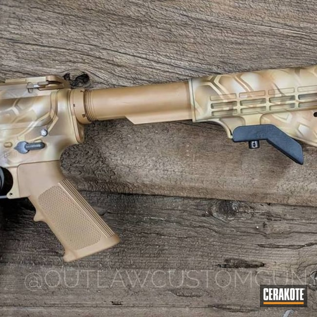 Cerakote Kryptek Rifle Finish