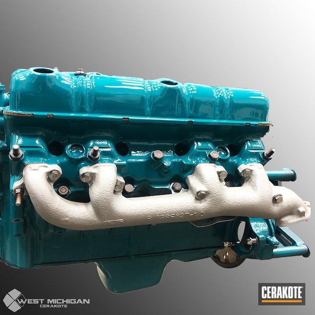 Cerakoted: TITANIUM C-105,More Than Guns,Engine,Automotive,Manifold,Hagerty