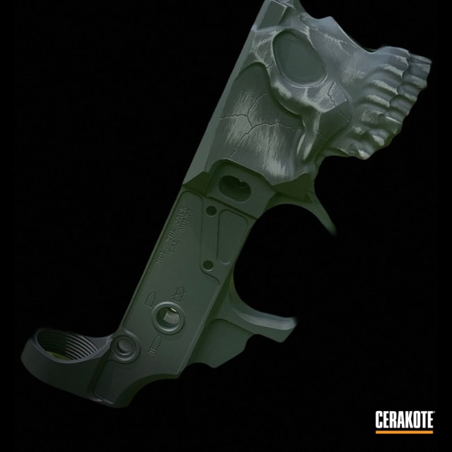 Spike's Tactical The Jack Lower Receiver with Cerakote Sniper Grey Details