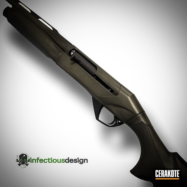 "Thumbnail image for project ""Distressed Cerakote Graphite Black and MagPul O.D. Green Finish"""