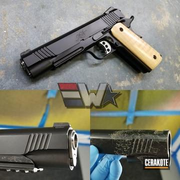 Cerakoted Restored Kimber 1911 Handgun