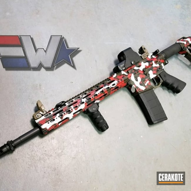 "Thumbnail image for project ""Custom Cerakote MultiCam Finish"""