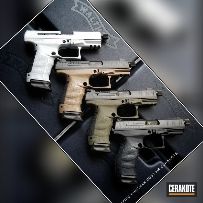 "Thumbnail image for project ""Cerakoted Walther Handguns"""