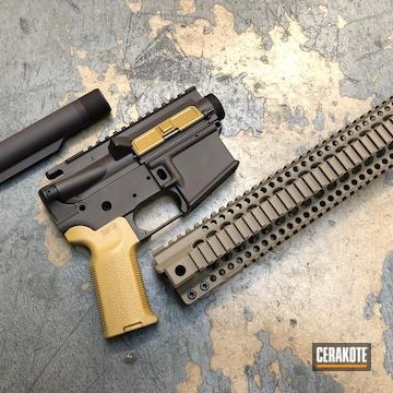 Cerakoted Custom Cerakoted Ar-15 Rifle