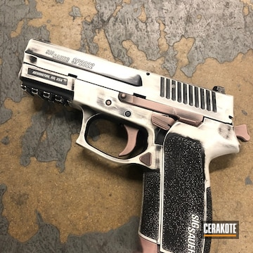 Cerakoted Sig Sauer Sp2022 In A Distressed Cerakote Finish
