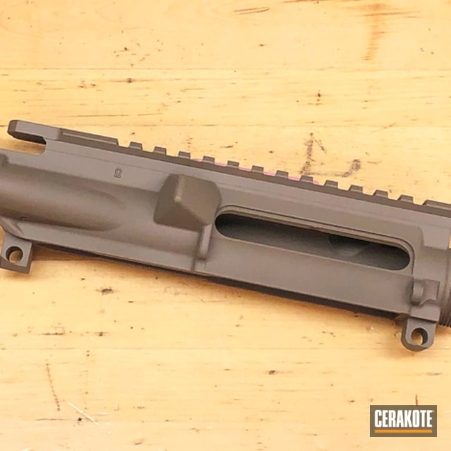 AR-15 Upper Receiver in H-267 MagPul Flat Dark Earth