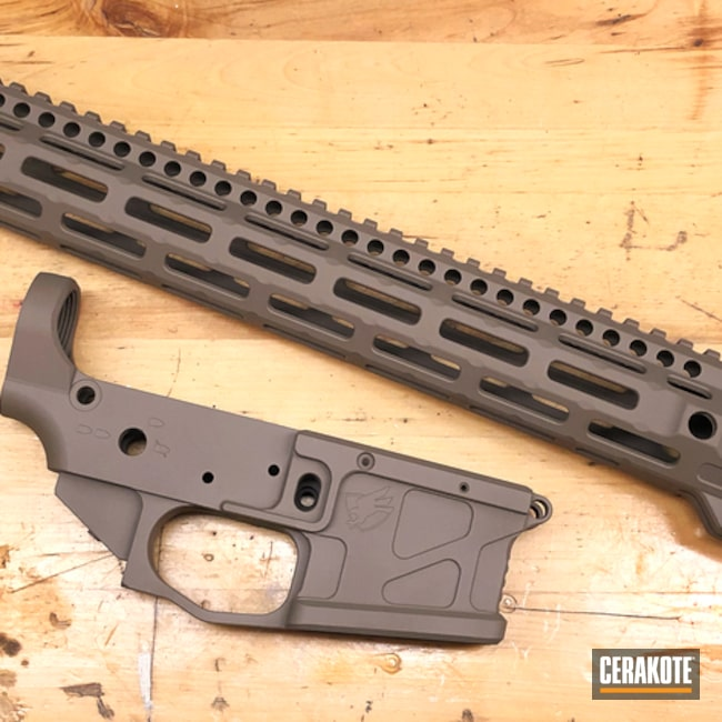 "Thumbnail image for project ""AR-15 Stripped Lower and Handguard One Color"""