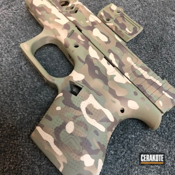 Cerakoted Custom Cerakote Multicam