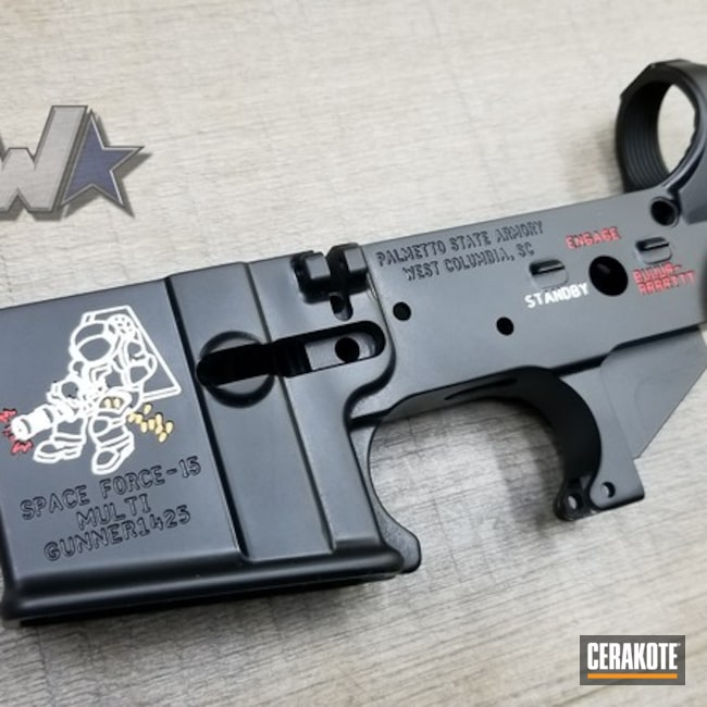 "Thumbnail image for project ""Custom Palmetto State Armory Lower Receiver"""