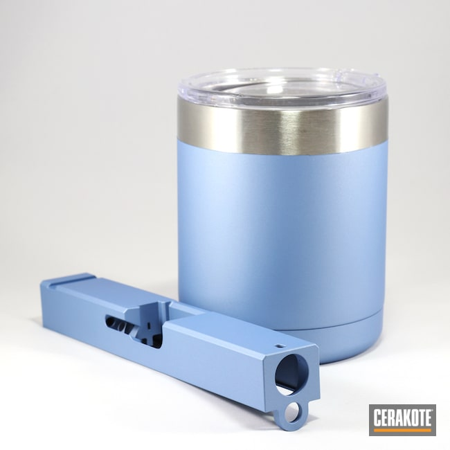 Polar Blue Tumbler and Slide