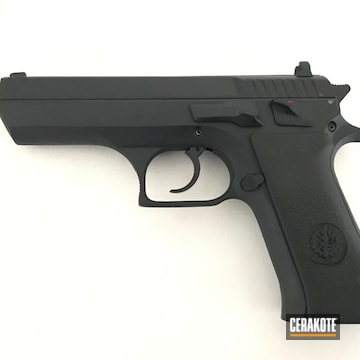 Cerakoted Iwi Jericho 941 In Graphite Black Finish