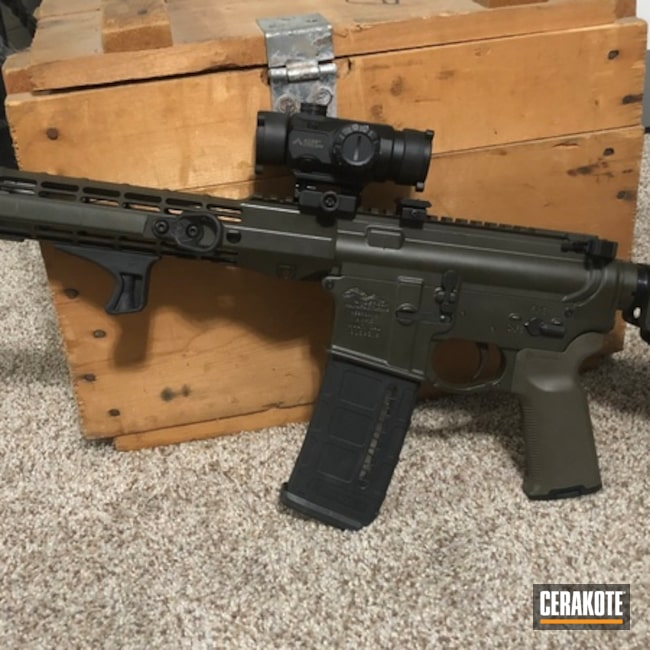 Anderson Mfg. AR-15 in H-232 MagPul O.D. Green