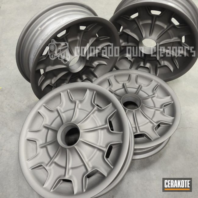 Cerakoted: Rims,Gun Metal Grey H-219,More Than Guns,Automotive,Wheels
