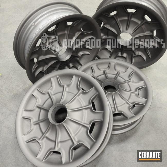 Cerakoted: Rims,Gun Metal Grey H-219,More Than Guns,Automotive,Wheels