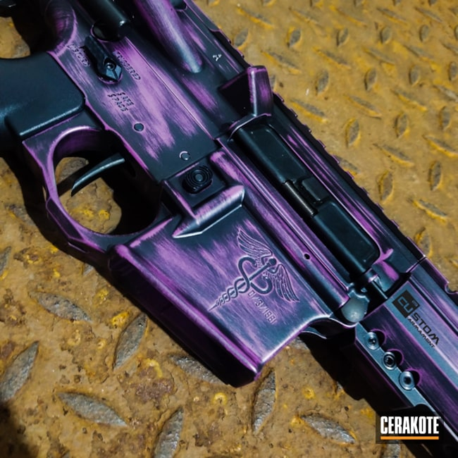 "Thumbnail image for project ""H-190 Armor Black and H-197 Wild Purple"""