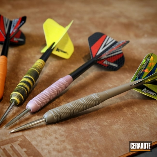 "Thumbnail image for project ""Darts In A Variety Of Cerakote Colors"""