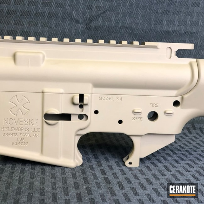 Noveske Upper / Lower AR Receiver finished in Cerakote H-267