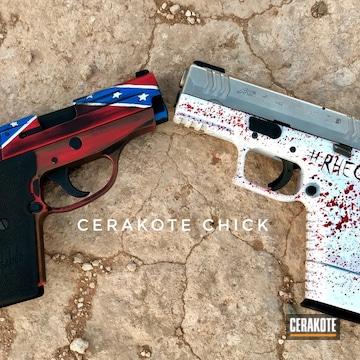 Cerakoted Custom Cerakoted Sig Sauer And Springfield Handguns