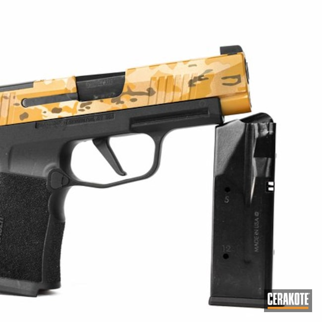 Sig Sauer Handgun and Cerakote MultiCam Finish