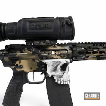 Cerakoted Spike's Tactical The Jack Rifle And Custom Cerakote Finish