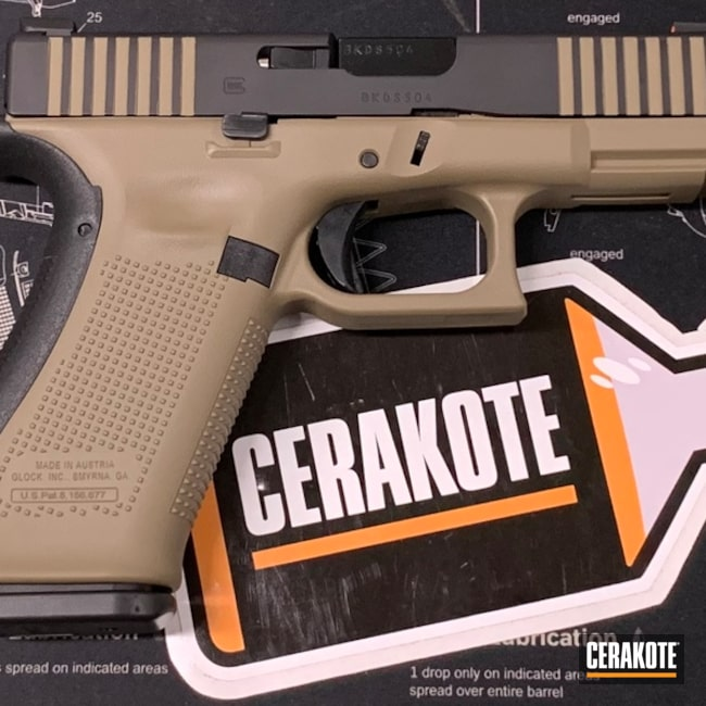 "Thumbnail image for project ""Two Toned Glock with Cerakote H-265 and H-146"""
