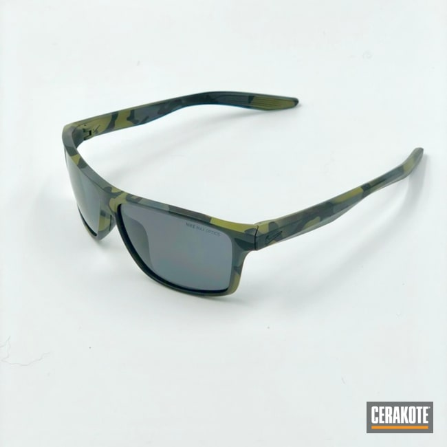Nike Sunglasses with a Custom Cerakote MultiCam Finish